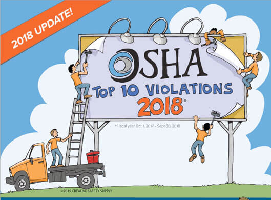 Top 10 OSHA Violations in 2018